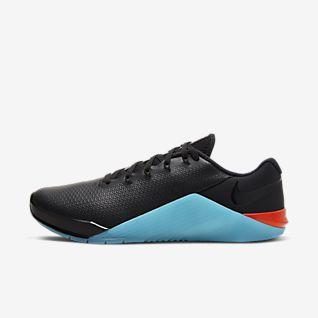 Nike Metcon 5 Black x Gold træningssko