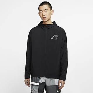 Nike Essential Wild Run เสื้อแจ็คเก็ตวิ่งผู้ชาย