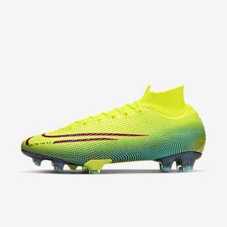 Nike Mercurial SuperflyX VI Elite CR7 FG groen wit goud