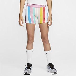 Nike Pro Boyshorts für ältere Kinder (Mädchen)