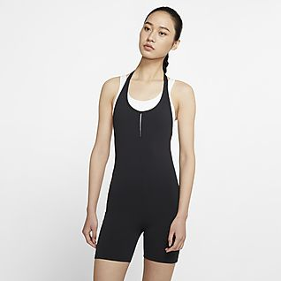 Nike Yoga Luxe จั๊มพ์สูทผู้หญิง Infinalon