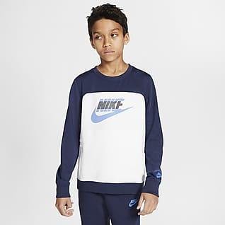 Nike Sportswear Older Kids' Fleece Crew