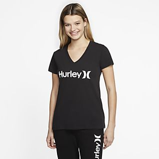 NEW Girls Top Large 10-12 Blue Black Stripe Short Sleeve High Low Shirt School