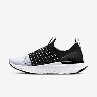 womens black and white nike shoes