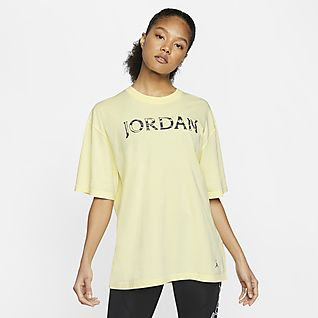 Jaune Hauts et tee shirts. Nike FR