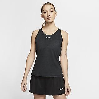 NikeCourt Dri-FIT Женская теннисная майка