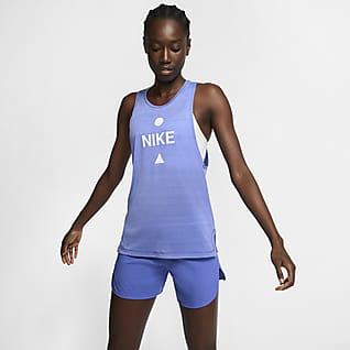 Nike Icon Clash Canotta da running - Donna