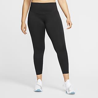 Nike One Damskie legginsy ze średnim stanem (duże rozmiary)