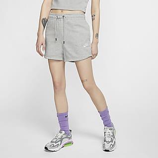 Nike Sportswear Essential Shorts i french terry för kvinnor