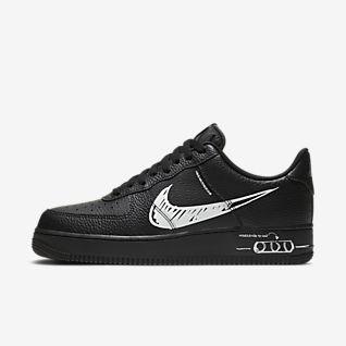 Hommes Noir Air Force 1 Chaussures. Nike FR