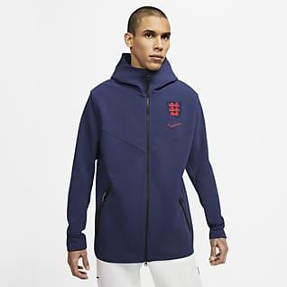 Αγγλία Tech Pack Ανδρική μπλούζα με κουκούλα και φερμουάρ σε όλο το μήκος