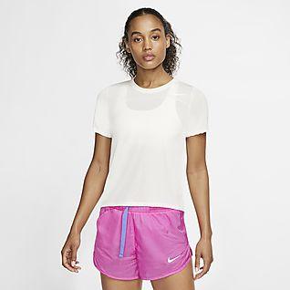 Nike Icon Clash løpeoverdel til dame med halv glidelås