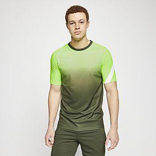 Nike Dri-FIT Academy Haut de football à motif et manches courtes pour Homme