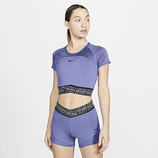 Nike Pro Dri-FIT Kısa Kollu Kadın Üstü