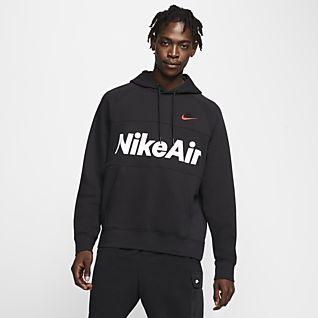 Light brown Nike hoodie Has small satin & some Depop