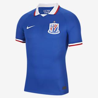 2020赛季上海绿地申花主场球员版 男子足球球衣