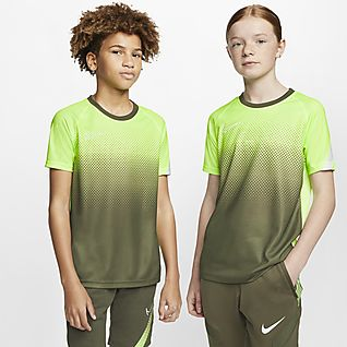 Nike Dri-FIT Academy Fotbalové tričko s krátkým rukávem pro větší děti