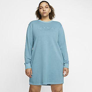 Nike Sportswear Vestit de teixit French Terry (talles grans) - Dona