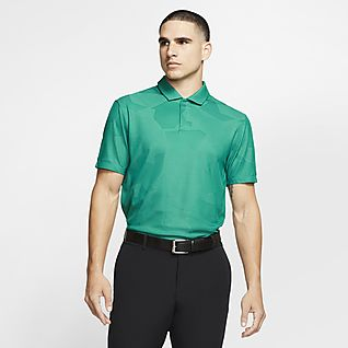 Nike Dri-FIT Tiger Woods Men's Camo Golf Polo