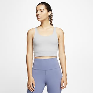 Nike Yoga Luxe Infinalon-cop top til kvinder