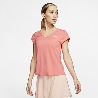 NikeCourt Dri-FIT Prenda para la parte superior de tenis de manga corta para mujer