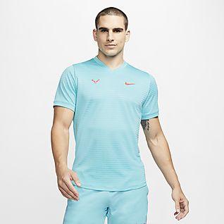 Rafa Challenger Camiseta de tenis de manga corta - Hombre
