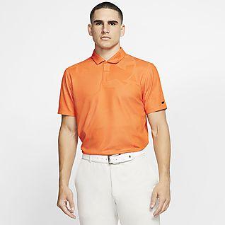 Nike Dri-FIT Tiger Woods Golfpikétröja med kamouflagemönster för män