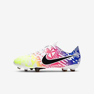 Nike Jr. Mercurial Vapor 13 Academy Neymar Jr. MG Chaussure de football multi-surfaces à crampons pour Enfant