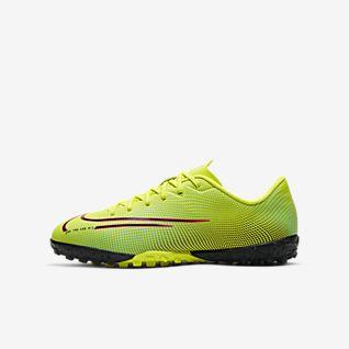 Nike Jr. Mercurial Vapor 13 Academy MDS TF Sapatilhas de futebol para relva artificial para criança/Júnior