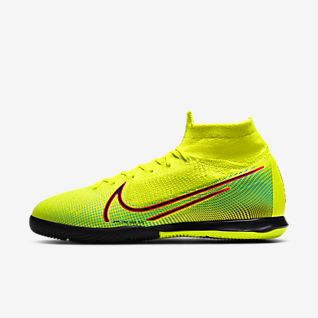 GIFT BAG 20th anniversary Soccer Cleats Mercurial Superfly VI 360 CR7 SuperflyX 6 Elite SG AC Soccer Shoes High Ankle Football Boots