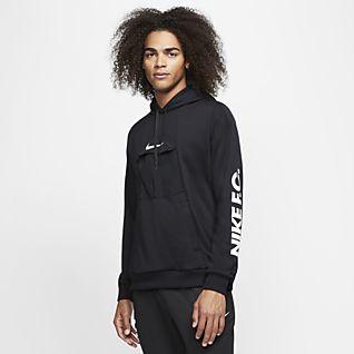 Nike F.C. Ανδρική ποδοσφαιρική μπλούζα με κουκούλα