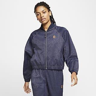 NikeCourt Tennisjakke til kvinder