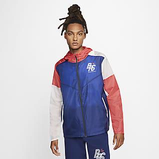 ナイキ ブルー リボン スポーツ ランニングジャケット