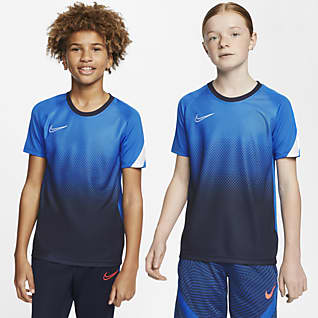 Nike Dri-FIT Academy Kortærmet fodboldtrøje til store børn