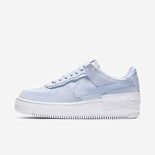 Dames Blauw Schoenen. Nike BE
