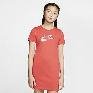 Nike Sportswear Šaty pro větší děti (dívky)