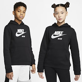 Nike Sportswear Club Fleece Miami Big Kids' Pullover Hoodie