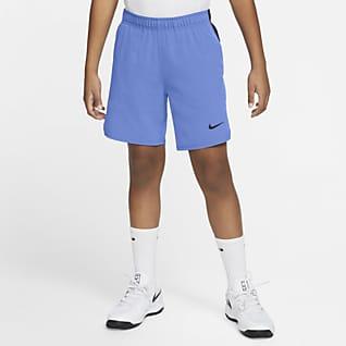 NikeCourt Flex Ace Tenisové kraťasy pro větší děti (chlapce)