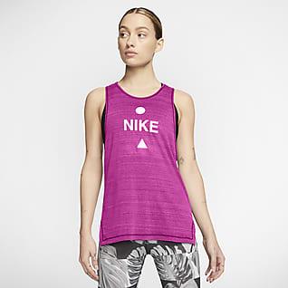 Nike Icon Clash Løbetanktop til kvinder