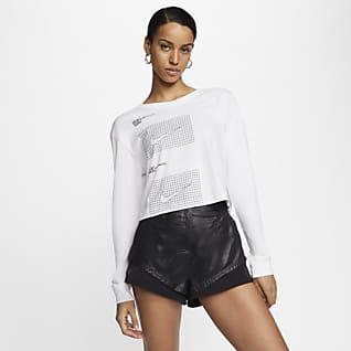Nike Sportswear House of Innovation (Paris) Långärmad kort t-shirt för kvinnor