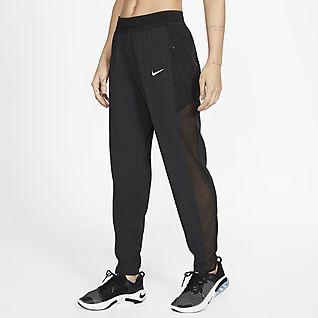 Spodnie legginsy damskie Nike Victory moro treningowe
