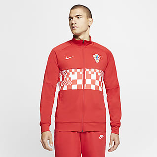 Croatia Men's Football Jacket