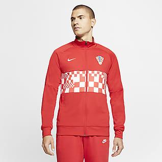 Hırvatistan Erkek Futbol Ceketi