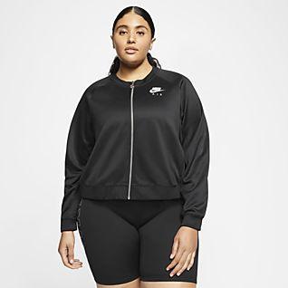 Nike Air Casaco para mulher (tamanhos grandes)