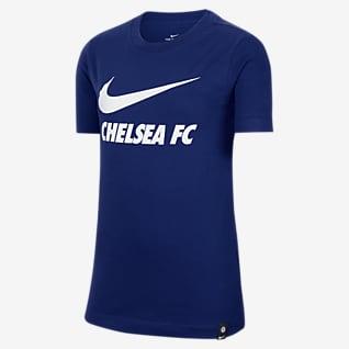 Chelsea F.C. Older Kids' Football T-Shirt