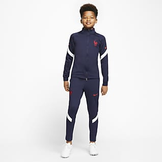 FFF Strike Older Kids' Football Tracksuit