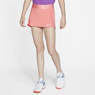 NikeCourt Теннисная юбка для девочек школьного возраста