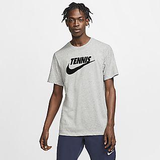 NikeCourt Dri-FIT Tennis-t-shirt med grafik för män