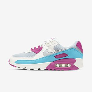 air max 90 pink and blue