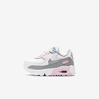 NEU Nike BabySchuhe pink rosa schwarz gelb Schuhe Baby Mädchen 18 ,5
